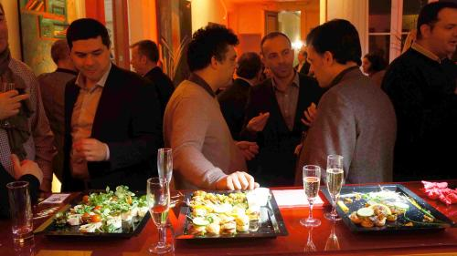Buffet d'affaires