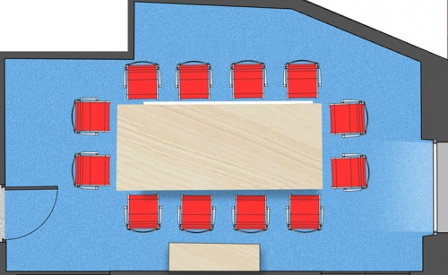 Room seating plan